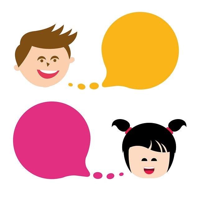 Kids speaking Pixabay